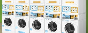 Блок стиральных машин для стирки и сушки в прачечных самообслуживания СамПРАЧКА
